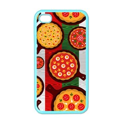 Pizza Italia Beef Flag Apple Iphone 4 Case (color) by Alisyart
