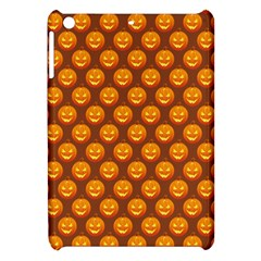 Pumpkin Face Mask Sinister Helloween Orange Apple Ipad Mini Hardshell Case by Alisyart
