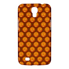 Pumpkin Face Mask Sinister Helloween Orange Samsung Galaxy Mega 6 3  I9200 Hardshell Case by Alisyart