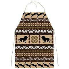 African Vector Patterns  Full Print Aprons