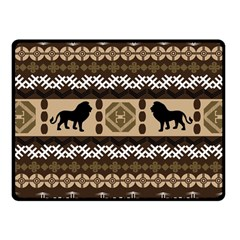 African Vector Patterns  Fleece Blanket (small) by Amaryn4rt