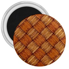 Vector Square Texture Pattern 3  Magnets