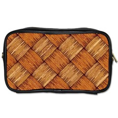 Vector Square Texture Pattern Toiletries Bags 2 Side by Amaryn4rt
