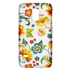 Flower Floral Rose Sunflower Leaf Color Galaxy S5 Mini by Alisyart
