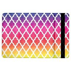 Colorful Rainbow Moroccan Pattern Ipad Air Flip by Amaryn4rt