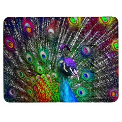 3d Peacock Pattern Samsung Galaxy Tab 7  P1000 Flip Case by Amaryn4rt