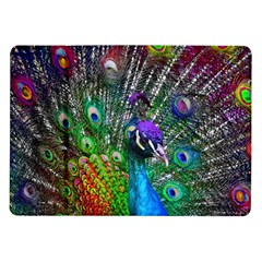 3d Peacock Pattern Samsung Galaxy Tab 10 1  P7500 Flip Case by Amaryn4rt