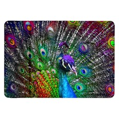 3d Peacock Pattern Samsung Galaxy Tab 8 9  P7300 Flip Case by Amaryn4rt
