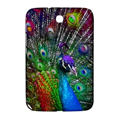 3d Peacock Pattern Samsung Galaxy Note 8 0 N5100 Hardshell Case  by Amaryn4rt