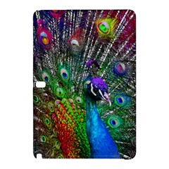 3d Peacock Pattern Samsung Galaxy Tab Pro 10 1 Hardshell Case by Amaryn4rt