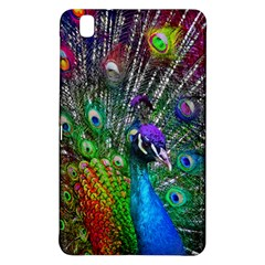 3d Peacock Pattern Samsung Galaxy Tab Pro 8 4 Hardshell Case by Amaryn4rt