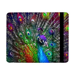 3d Peacock Pattern Samsung Galaxy Tab Pro 8 4  Flip Case by Amaryn4rt