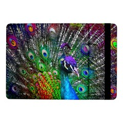3d Peacock Pattern Samsung Galaxy Tab Pro 10 1  Flip Case by Amaryn4rt