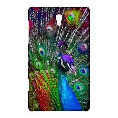 3d Peacock Pattern Samsung Galaxy Tab S (8 4 ) Hardshell Case  by Amaryn4rt