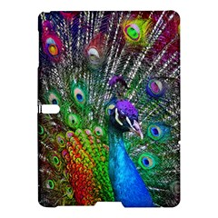3d Peacock Pattern Samsung Galaxy Tab S (10 5 ) Hardshell Case  by Amaryn4rt