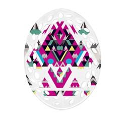 Geometric Play Ornament (oval Filigree)