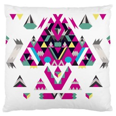 Geometric Play Large Cushion Case (one Side)
