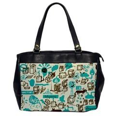Telegramme Office Handbags by Amaryn4rt