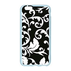 Vector Classical trAditional Black And White Floral Patterns Apple Seamless iPhone 6/6S Case (Color) by Amaryn4rt