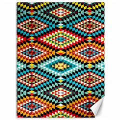 African Tribal Patterns Canvas 36  X 48