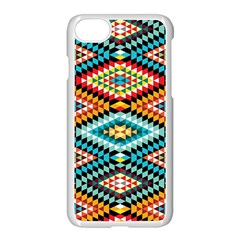 African Tribal Patterns Apple Iphone 7 Seamless Case (white) by Amaryn4rt