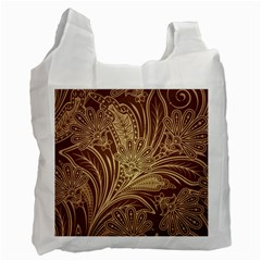 Beautiful Patterns Vector Recycle Bag (two Side)