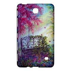 Bench In Spring Forest Samsung Galaxy Tab 4 (8 ) Hardshell Case  by Amaryn4rt
