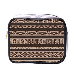 Ethnic Pattern Vector Mini Toiletries Bags by Amaryn4rt