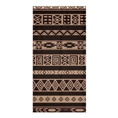 Ethnic Pattern Vector Shower Curtain 36  X 72  (stall)  by Amaryn4rt