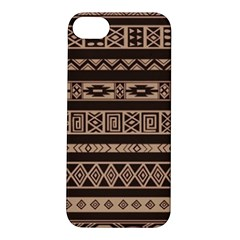 Ethnic Pattern Vector Apple Iphone 5s/ Se Hardshell Case by Amaryn4rt