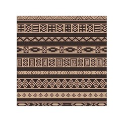 Ethnic Pattern Vector Small Satin Scarf (square) by Amaryn4rt
