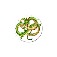 Dragon Snake Golf Ball Marker by Amaryn4rt