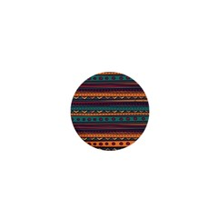 Ethnic Style Tribal Patterns Graphics Vector 1  Mini Buttons by Amaryn4rt