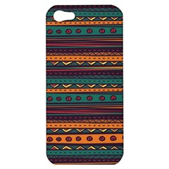 Ethnic Style Tribal Patterns Graphics Vector Apple Iphone 5 Hardshell Case by Amaryn4rt