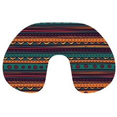 Ethnic Style Tribal Patterns Graphics Vector Travel Neck Pillows