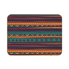 Ethnic Style Tribal Patterns Graphics Vector Double Sided Flano Blanket (mini)  by Amaryn4rt