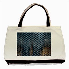 Parametric Wall Pattern Basic Tote Bag (two Sides) by Amaryn4rt