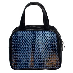 Parametric Wall Pattern Classic Handbags (2 Sides)