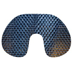 Parametric Wall Pattern Travel Neck Pillows