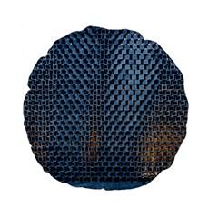 Parametric Wall Pattern Standard 15  Premium Flano Round Cushions