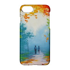 Park Nature Painting Apple iPhone 7 Hardshell Case by Amaryn4rt