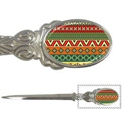 Mexican Folk Art Patterns Letter Openers by Amaryn4rt