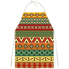 Mexican Folk Art Patterns Full Print Aprons by Amaryn4rt