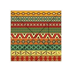 Mexican Folk Art Patterns Acrylic Tangram Puzzle (4  X 4 ) by Amaryn4rt
