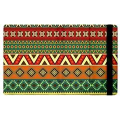 Mexican Folk Art Patterns Apple Ipad 3/4 Flip Case by Amaryn4rt