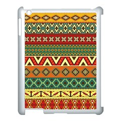 Mexican Folk Art Patterns Apple Ipad 3/4 Case (white)