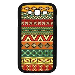 Mexican Folk Art Patterns Samsung Galaxy Grand Duos I9082 Case (black) by Amaryn4rt