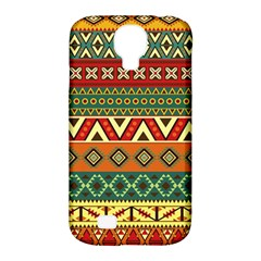 Mexican Folk Art Patterns Samsung Galaxy S4 Classic Hardshell Case (pc+silicone) by Amaryn4rt