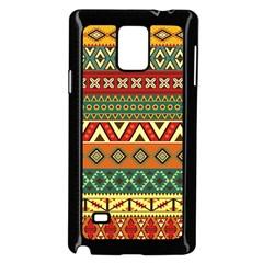 Mexican Folk Art Patterns Samsung Galaxy Note 4 Case (black) by Amaryn4rt