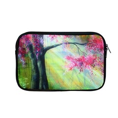 Forests Stunning Glimmer Paintings Sunlight Blooms Plants Love Seasons Traditional Art Flowers Sunsh Apple Macbook Pro 13  Zipper Case by Amaryn4rt